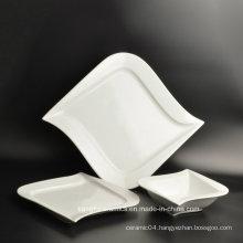 3 PCS Irregular Shape Customized Dinner Plate