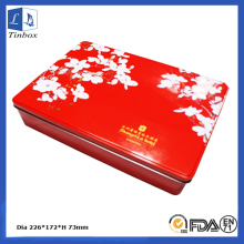 Custom Printed Metal Cookie Gift Tin Box