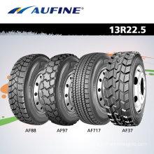 Aufine Truck Tyres 13r22.5 to Afircan Market