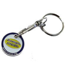 Металлическая тележка-брелок для монет (m-TC013)