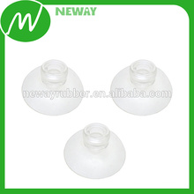Injeção transparente de PVC NBR, EPDM, NR Material Sucker