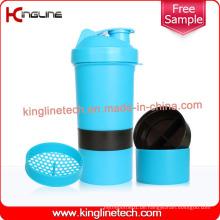 400ml Plastik-Schüttler mit Pillbox im Behälter (KL-7003)