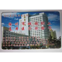 Cartão de identificação sem contato PVC