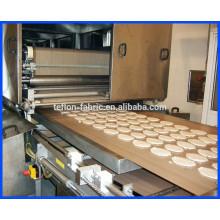 Alibaba best seller résistant à la température haute résistance 0,3 mm 260 Tissu en fibre de verre revêtu de PTFE pour four à pizza