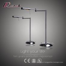 Lâmpada moderna de mesa de leitura rotativa de cabeceira LED
