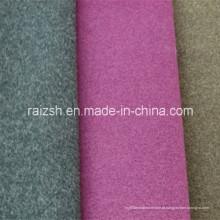 Loop Pile saia de lã Tecido Tecido Fleece Primavera Tecido Vestido