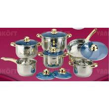 5 Step 12 PCS Cookware Set
