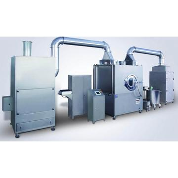 Automatic sugar coating machines