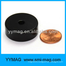 Epoxy coating round magnet with hole