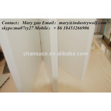 hochwertige PVC extrudierte Schaumstoffplatte / Schneidebrett / Hersteller von Leiterplatten / uhmwpe Blatt /