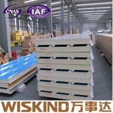 Painel de sanduíche rígido Heat-Insulated do plutônio de Wiskind China para a parede