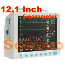 12,1 pulgadas CE & ISO aprobaron a Monitor paciente del multiparámetro