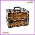 Patrones de cebra al por mayor caja de maquillaje profesional de la caja del tren (saccom088)