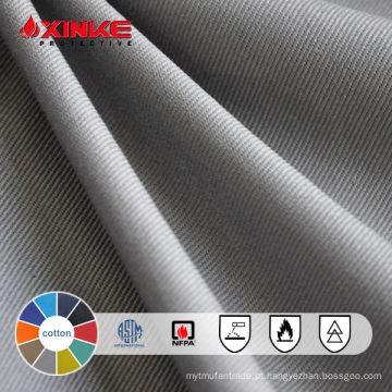 Tecido de algodão retardante de chama grossa 420GSM