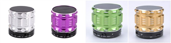 different colors bluetooth speakers