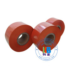 Fita de impressora cor laranja para máquina de medição de couro