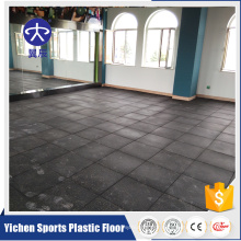 Fitness Room Heavy Weight Area Rubber Floor Rubber Mat