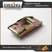 "2"" 2015 new product center buckle flat hook"