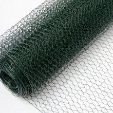 hexagon wire netting,chicken mesh,electro galvanized after weaving hexagonal wire netting