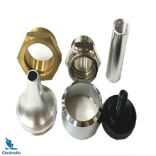 CNC Valve Fittings Brass Nuts and Fasteners