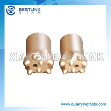 Bocados de botão afilados das ferramentas de perfuração da eficiência elevada para minar