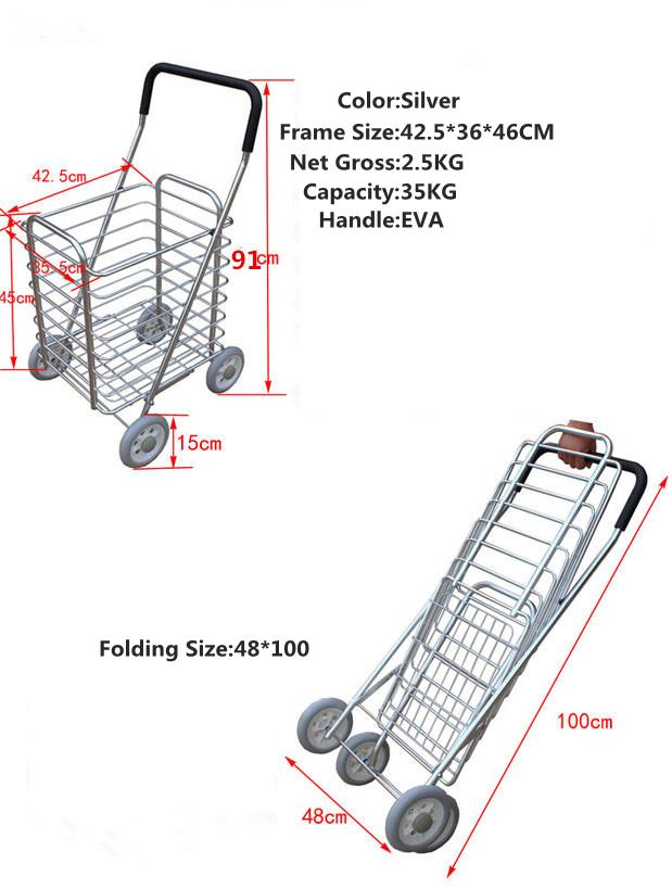 Folding shopping basket3