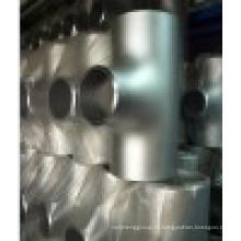 Бесшовная нержавеющая сталь Равный тройник с PED 3.1 Cert.