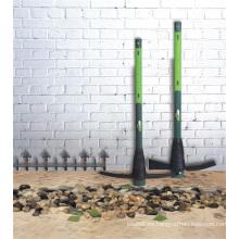 2kgs (4.4Lbs) herramientas de jardín de la agricultura acero pickaxe Mattock con mango de fibra de vidrio