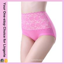 Women Body Shaping High Waist Lace Panties (14308)