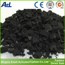 Carbono activado a base de madera para la mejora del suelo