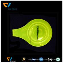 im Dunkeln leuchten Reflektierende Magnet PVC-Clip für Fahrrad zur Sicherheit