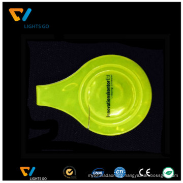 glow in the dark Reflective Magnet PVC Clip for bicycle for safety