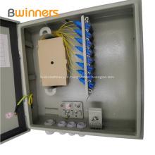 Caixa de distribuição óptica montada na parede exterior 24 núcleos SC \ PC SC \ APC