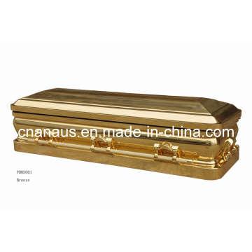 China Casket (ANA) Metal Casket for Funeral