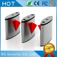 Fingerprint Access Turnstile Swing Flap Barrier Gate
