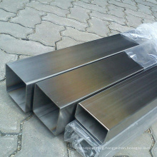 Sanon High Quality Rectangular 8K Polished Mirror ERW 304 316L 316 Stainless Steel Tube