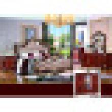 Chambre à coucher avec lit double pour les meubles à la maison (W813A)