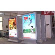 Caja de luz de publicidad de desplazamiento delgado de aleación de aluminio