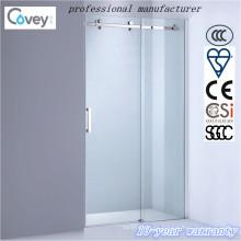Artículos sanitarios Pantalla de ducha deslizante con hardware de acero inoxidable (AKW05-KD)