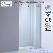 Sanitary Ware Sliding Shower Screen with Stainless Steel Hardware (AKW05-KD)