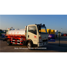 Howo7 Type 6CBM 4X2 Sewage Suction Truck