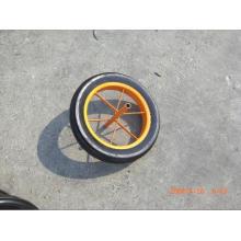 Roda sólida de carrinho de mão de roda para serviço pesado