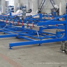 Apilador automático de la hoja de la hoja del panel de techo / apilador automático para el panel de acero