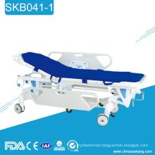 SKB041-1 Hospital Emergency Patients Transfer Transport Trolley