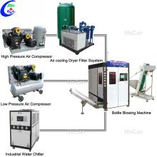 Machine de fabrication de soufflage de bouteilles d'eau en plastique PET