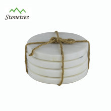 Eco-Friendly Tableware natural Marble Coasters