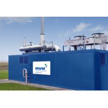 Planta de energía de gas 1MW-100MW