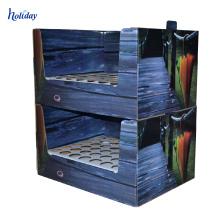 Gute Qualität Pappzähler-Regenschirm-Pappanzeige, kurzer Regenschirm-Gegenanzeige-Kasten
