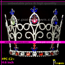Cheap pageant crowns rhinestone pageant crown and tiara