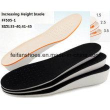 A palmilha exterior o mais atrasado da palmilha do esporte da altura do aumento da alta qualidade (FF505-1)